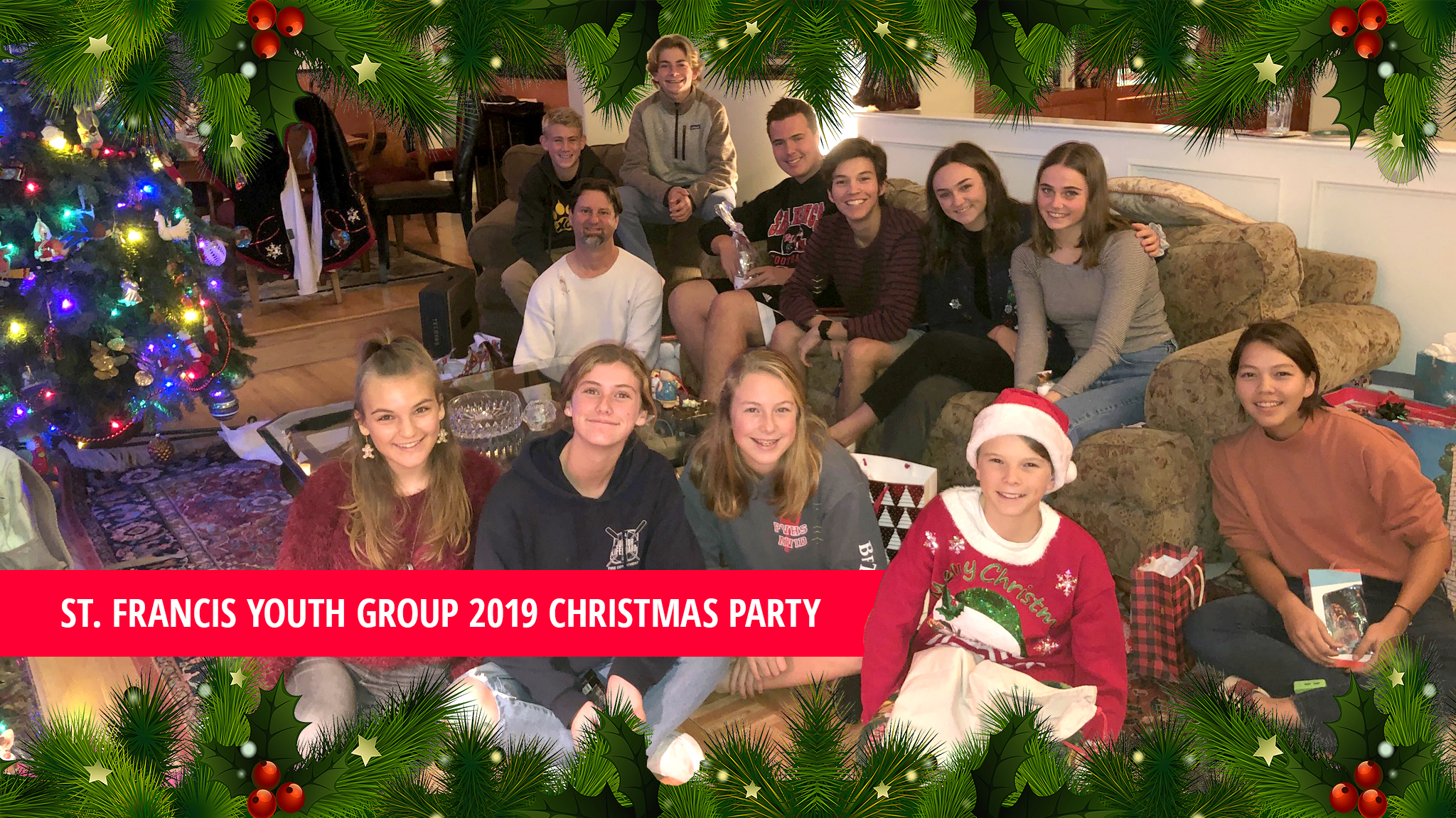 2019 Youth Group Christmas Party