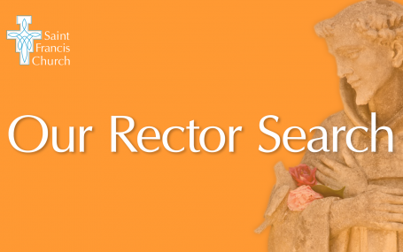 2021 Rector Search banner